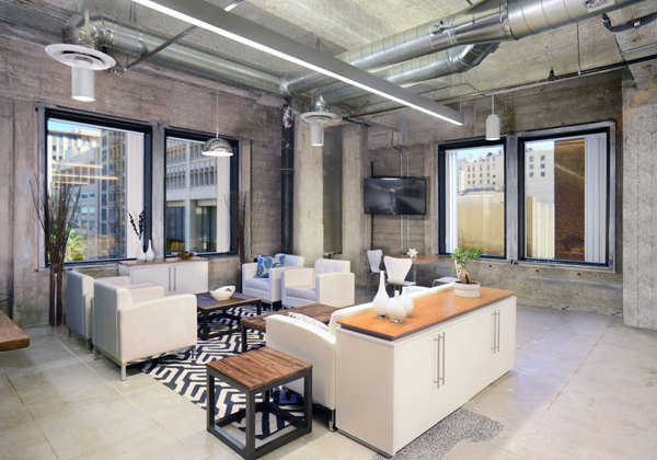 Peek inside dazzling new office in downtown - Interior design companies los angeles ...